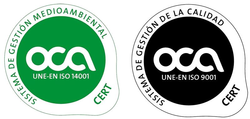 Certificaciones Sistema de Gestión Ambiental