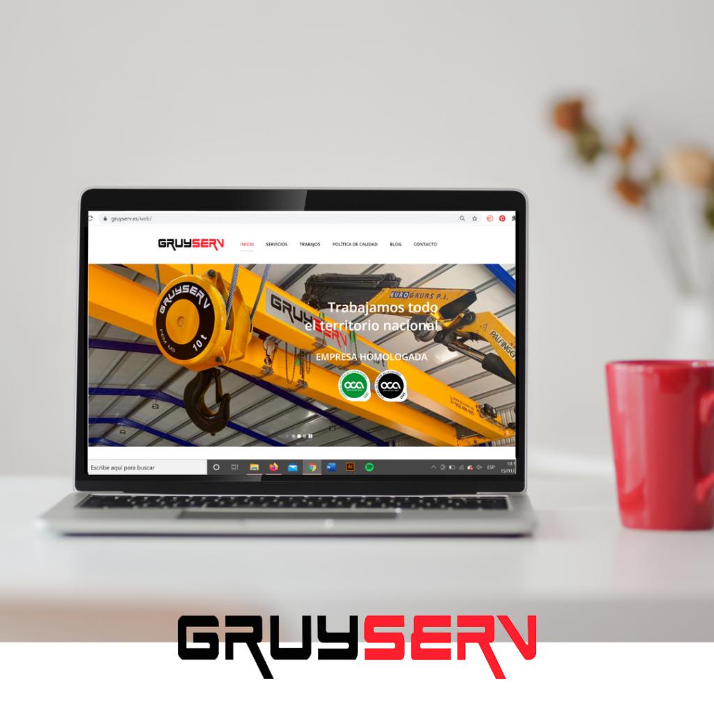 nueva web gruyserv